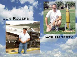 Authors Jack Hagerty and Jon Rogers
