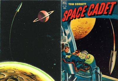 Tom Corbett Comics